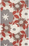 Surya Dreamscape DRE-4408 Winter White/Feather Grey/Dark Taupe Closeout Area Rug - Spring 2013