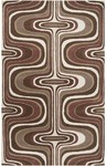 Surya Dreamscape DRE-4413 Winter White/Moth Beige/Dark Chocolate Closeout Area Rug - Spring 2013