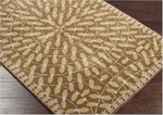 Surya Dream DST-342 Safari Tan/Raw Umber/Dark Khaki Area Rug