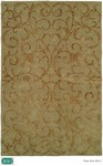 HRI Eden Park 0031 Green Closeout Area Rug