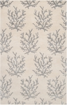 Surya Somerset Bay Escape ESP-3002 White/Light Grey Closeout Area Rug - Fall 2014