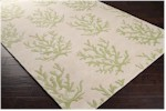 Surya Somerset Bay Escape ESP-3005 White/Lettuce Leaf Closeout Area Rug - Spring 2015