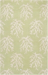Surya Somerset Bay Escape ESP-3007 Lettuce Leaf/White Closeout Area Rug - Fall 2014