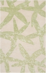Surya Somerset Bay Escape ESP-3015 Lettuce Leaf/White Closeout Area Rug - Spring 2014