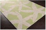 Surya Somerset Bay Escape ESP-3018 Lettuce Leaf/White Closeout Area Rug - Spring 2014