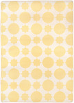 Surya Seventeen Flirty FLT-1045 Pale Yellow/White Closeout Area Rug - Spring 2011