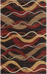 Surya Forum FM-7154 Brown/Golden Brown/Sienna Closeout Area Rug - Fall 2014