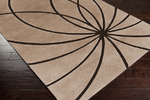 Surya Forum FM-7179 Safari Tan Closeout Area Rug - Spring 2014