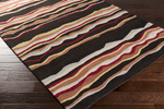 Surya Forum FM-7191 Black/Rust/Burgundy Closeout Area Rug - Spring 2015