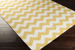 Surya Frontier FT-291 Golden Yellow/Winter White Closeout Area Rug - Fall 2015
