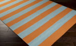 Surya Frontier FT-293 Burnt Orange/Mint Closeout Area Rug - Fall 2015