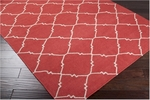 Surya Frontier FT-41 Brick Red/Taupe Beige Area Rug