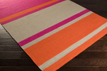 Surya Frontier FT-566 Hot Pink/Coral/Light Grey Closeout Area Rug - Fall 2015