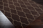 Surya Gates GAT-1000 Chocolate/Ivory Closeout Area Rug - Fall 2013