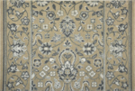 GLAMOUR KASHAN GLAMK IVORY-B - Nourison offers an extraordinary selection of premium broadloom, roll runners, and custom rugs.