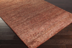 Surya Galloway GLO-1002 Burgundy/Ivory/Chocolate Area Rug