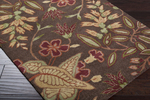 Surya Gramercy GRA-9927 Chocolate/Red Closeout Area Rug - Spring 2013