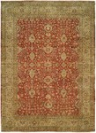 HRI Elite H-14 Red/Gold Closeout Area Rug