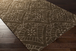 Surya Henna HEN-1004 Chocolate/Charcoal Closeout Area Rug - Spring 2015