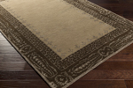 Surya Henna HEN-1007 Taupe/Chocolate/Olive Closeout Area Rug - Fall 2015