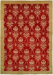 HRI Serenity HP-115 Red Closeout Area Rug
