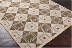 Surya Mugal IN-8008 Sand Beige Closeout Area Rug