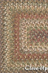 Surya Country Living Jamestown JAM-4305 Pewter/Coffee Bean/Dark Khaki Closeout Area Rug