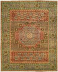 HRI Supreme Mamlouk JM-1C Red/Green Closeout Area Rug