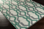 Surya Juniper JNP-5036 Ivory/Emerald/Kelly Green/Charcoal Closeout Area Rug - Spring 2015