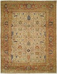 HRI Supreme JR-2 Ivory/Rust Closeout Area Rug