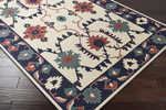 Surya Jewel Tone II JTII-2057 Beige/Navy/Coral Closeout Area Rug - Spring 2015