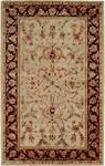 HRI Romance Collection KC-314 Beige/Red Closeout Area Rug