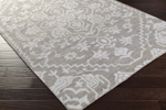 Surya Kinnara KNA-6000 Light Grey/Light Grey Area Rug