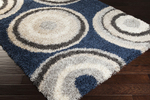 Surya Los Angeles LAX-5002 Navy/Ivory/Ash Grey Closeout Area Rug - Fall 2014
