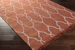 Surya Lagoon LGO-2005 Rust/Light Grey Closeout Area Rug