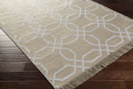 Surya Lagoon LGO-2013 Light Grey/Ivory Closeout Area Rug
