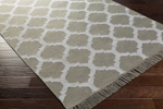 Surya Lagoon LGO-2021 Light Grey/Ivory Closeout Area Rug