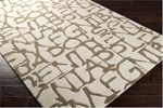 Surya Lies LIE-6005 Bone/Wenge/Slate Green Closeout Area Rug - Spring 2014