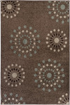 Surya Lotus LTS-1004 Brown Mix/Chocolate Closeout Area Rug - Spring 2012