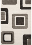 Surya Lotus LTS-1012 Parchment/Elephant Grey/Jet Black Closeout Area Rug - Spring 2012