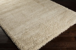 Surya Luxury Shag LXY-1727 Winter White/Putty Closeout Area Rug - Fall 2013