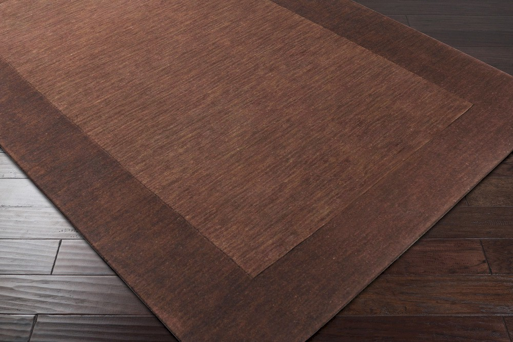 Surya Mystique M 294 Brown Dark Chocolate Area Rug