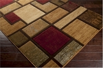 Surya Majestic MAJ-1020 Barley/Brown Sugar/Espresso Closeout Area Rug - Fall 2015