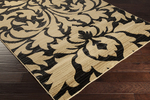 Surya Majestic MAJ-1028 Black/Gold/Grey Closeout Area Rug - Spring 2015