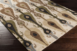 Surya Matmi MAT-5454 Taupe/Olive/Chocolate Closeout Area Rug - Spring 2015