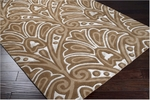 Surya Bob Mackie Moderne MDR-1027 Brown/Tan Closeout Area Rug - Spring 2012