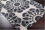 Surya Bob Mackie Moderne MDR-1029 Off White/Black Closeout Area Rug - Spring 2012