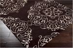 Surya Bob Mackie Moderne MDR-1035 Brown/Gold Closeout Area Rug - Spring 2012