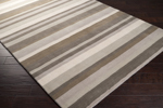 Surya Angelo Surmelis Madison Square MDS-1010 Brindle/Parchment/Oyster Grey Area Rug
