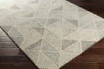 Surya Melody MDY-2006 Ivory/Olive/Light Grey/Charcoal/Black Area Rug